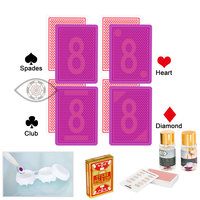Copag Texas Hold 'Em Cards Marked Cards for Perspective Glasses Poker Cheat Invisible Playing Cards Belgium Plastic Magic Poker