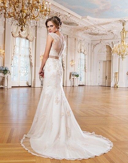 Aliexpress.com : Buy New Design Wedding Dress 2017 Simple Elegant ...