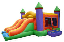 inflatable slide combo for sale/inflatable bouncer combo for kids and adults