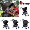 Carrinho de bebê de pano sombra sombrinha blocos 99% UV raios de sol Canopy Cover para carrinhos carro do bebê toldo tenda chuva Stroller acessórios