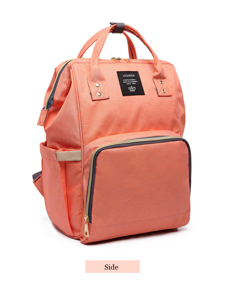 HTB1WsF1bynrK1Rjy1Xcq6yeDVXaE Drop Shipping Lequeen Nursing Care Baby Bag Stripe Diaper Bag Nappy Bag Organizer Waterproof Maternity Bag