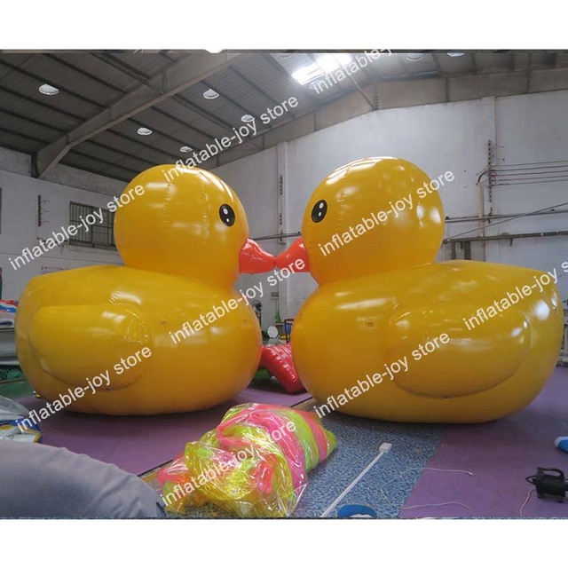 Free Ship,Giant Duck Inflatable Toy Float,3M/4M/5M Inflatable Big
