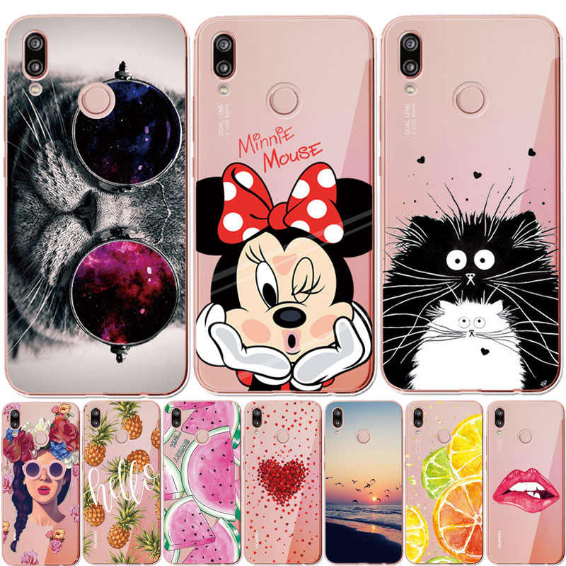 Phone Case For Huawei Honor 7 8 9 10 Lite 6X 7X 7A Pro RU version Case For Huawei P8 P9 P10 P20 Lite 2017 Cover Coque Fundas