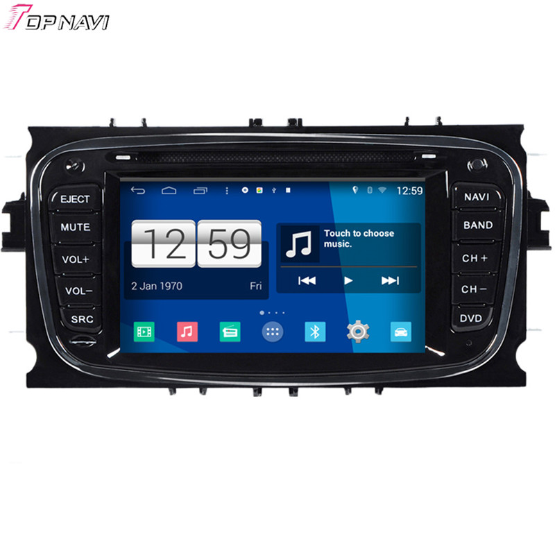 Free Shipping 6.2'' Quad Core S160 Android 4.4 Car DVD GPS For Mondeo/Focus/S-max With Stereo Radio Video Mirror Link BT Wifi