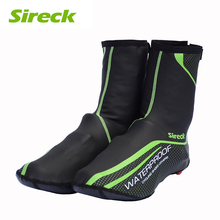 Sireck Waterproof Cycling Shoe Covers Fleece Thermal Mountain Bike Shoe Cover Road Bicycle Overshoes Winter Copriscarpe Ciclismo