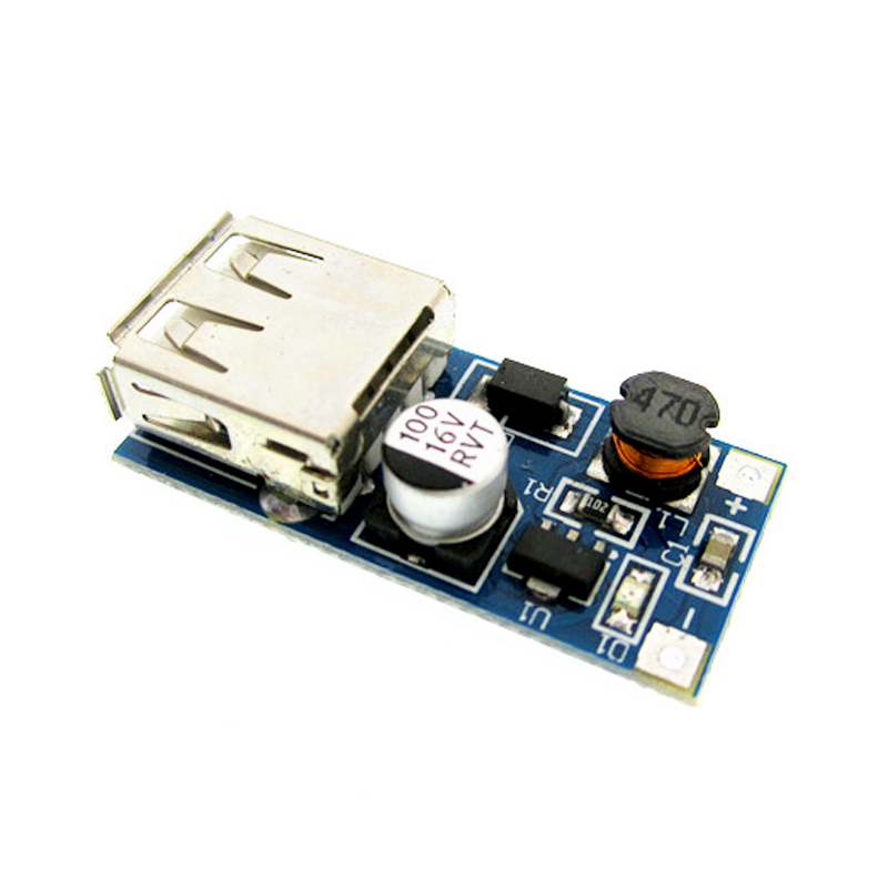 DC-DC USB Output charger step up Power Boost Module 0.9V ~ 5V to 5V 600MA USB Mobile Power Boost Board blue bonatech ultra small mobile power board 3a high efficiency boost module with battery indicator