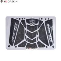 KODASKIN Emblems Tank Pad Stickers Decals Side Tank Protectors Knee Pad for Suzuki GSXR1300 Hayabusa