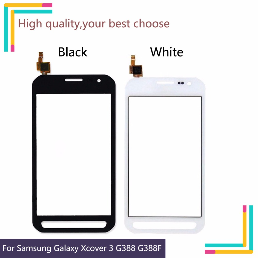 4.8″ New G388 Touch screen For Samsung Galaxy Xcover 3 G388 G388F TouchScreen Sensor Digitizer G388F Glass Lens Front Panel