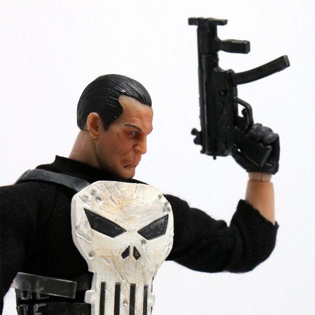 Mezco One:12 collectif le punisseur PVC figurine figurine modèle poupée jouet Version