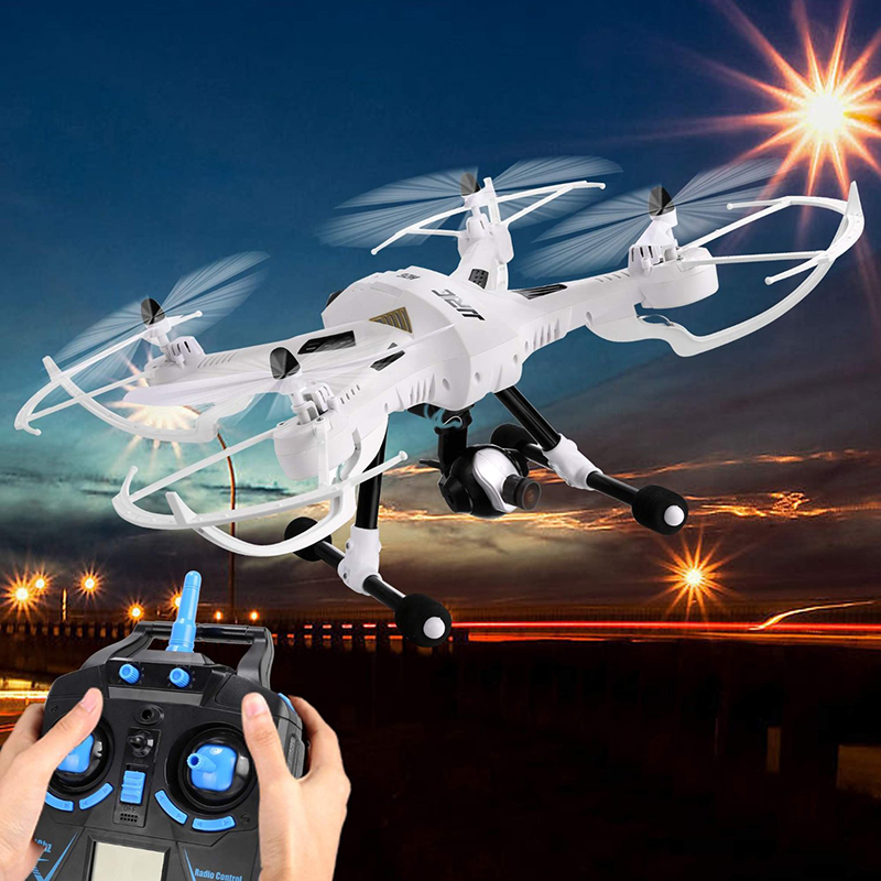 JJRC H26D 3MP Wide Angle HD Headless Mode One Key Return RC Quadcopter Drone 4CH 2.4G 6-Axis Gyro with more battery original jjrc h12c drone 6 axis 4ch headless mode one key return rc quadcopter with 5mp camera in stock