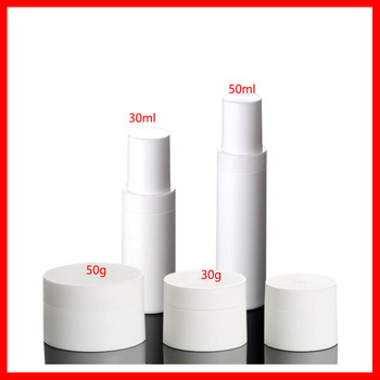 30/50ml white Sunscreen cream  lotion empty skin care jar/ bottle cosmetic packaging  cosmetic packing Refillable Bottles