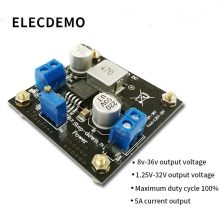 XL4015 Module Step-Down DC Converter Power DC-DC High Efficiency Adjustable function demo board