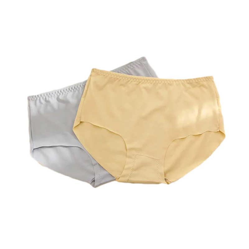 Ropa interior de Color dulce para niños, ropa interior para niñas, calzoncillos para adolescentes, pantalones cortos para niños, ropa interior de seda para niñas
