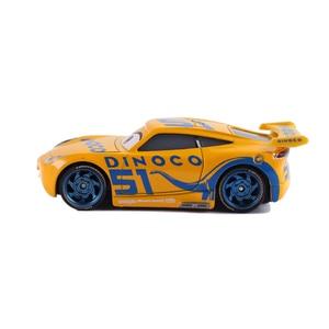 Image 3 - Disney Pixar Cars 2 & Cars 3 Dinoco Cruz Ramirez & Jackson Storm โลหะ Diecast รถ 1:55 หลวมยี่ห้อใหม่ในสต็อก