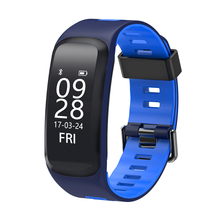 Bluetooth Heart Rate Smartbracelet IP68 Waterproof Blood Pressure Blood Oxygen Miontor Wristband for iphone for xiaomi
