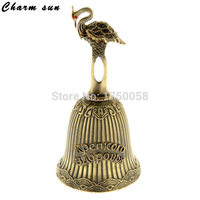 Vintage Arts New Metal Crafts Classic Golden Bells For The Holiday Souvenir Physical Well Being Classic