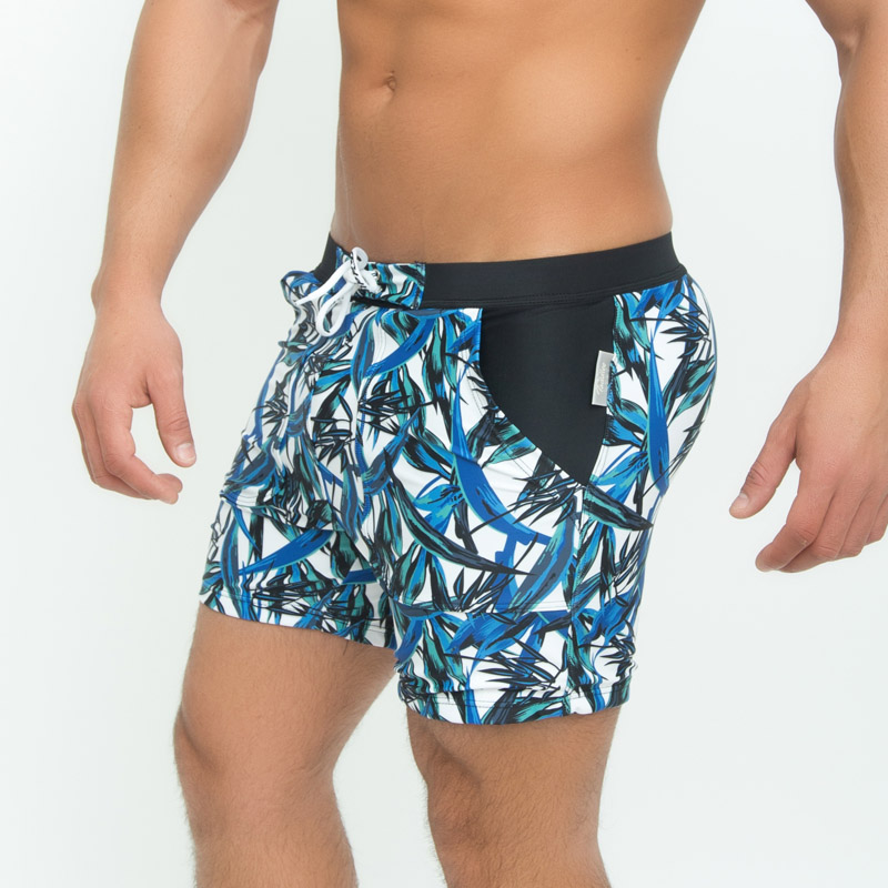 Taddlee Brand Sexy Men's Swimwear Board Beach Boxer Trunks Shorts - Pakaian lelaki - Foto 3