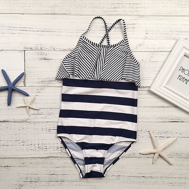 3-8 years horse gilding girls swimwear children swimsuit kids one piece swimsuits 2018 bathing suit maillot de bain monokini A22