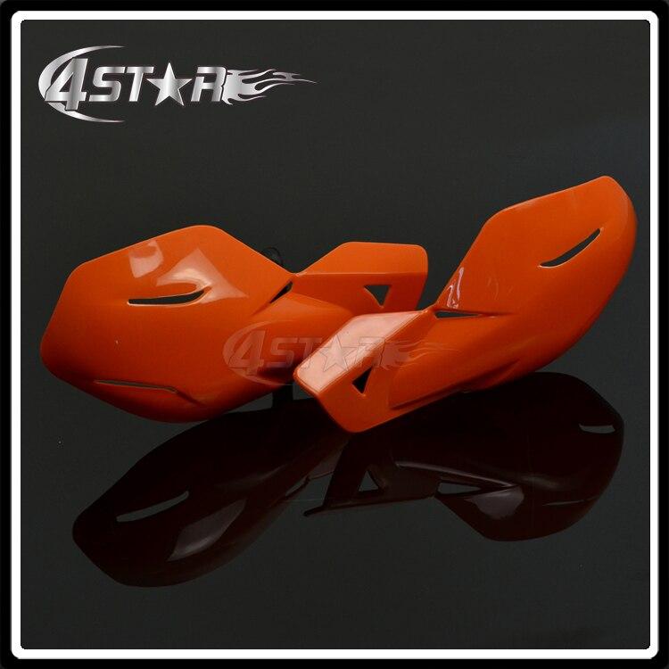 Orange Plastic 22mm Or 28mm Handlebar Hand Guards Handguards For Motorcycle KTM EXC Dirt Bike Motocross MX Supermoto ATV Quad