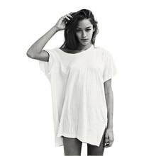 fd8df23f0be95e Aktywny Długi T Shirt Kobiety Harajuku Tumblr BTS Kpop Wegańskie  Kyliejenner Kendall Jenner Baggy Tee Topy Dziewczyna Gang Odzie.