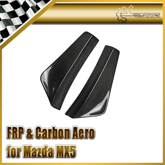 Car-styling Carbon Fiber Rear Bumper Spat Canard Fit For Mazda MX5 Miata NB Style