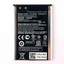 Original High Capacity C11P1428 Battery For ASUS ZenFone2 Laser 5 ZE500KL ZE500KG Z00ED 2400mAh чехлы накладки для телефонов кпк asus zenfone2 zenfone2 ze550ml ze551ml