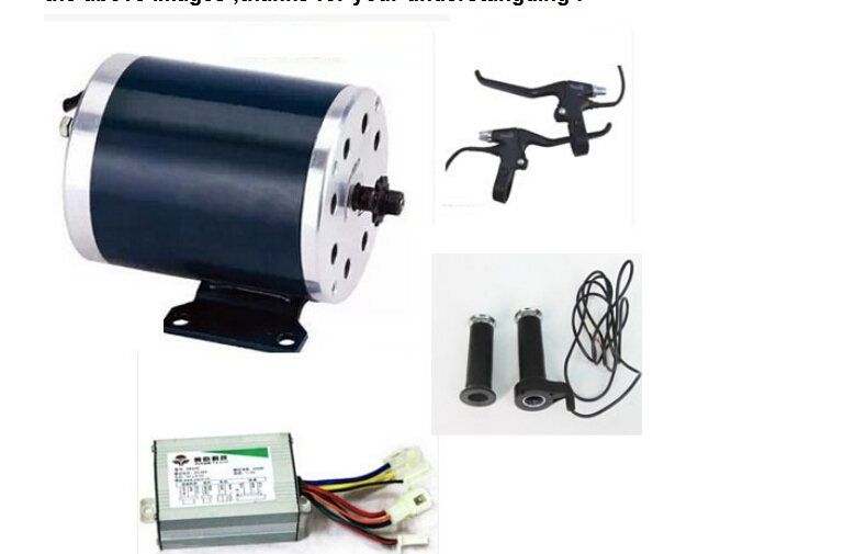 500W 24V electric dc brush motor ,electic scooter motor ,electric bicycle motor kit, electric bike kit