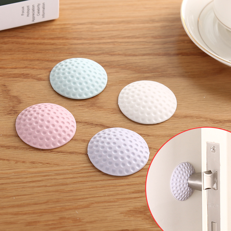 Купить с кэшбэком 4pcs Protection Baby Safety Shock Absorbers Baby Care Sleeping Child Lock Protection from Children Security Card Door Stopper