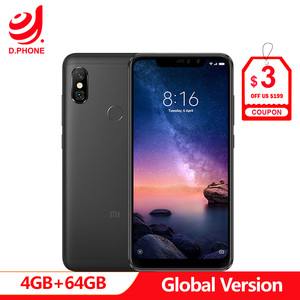 "Image 1 - Spain In stock Global Version Xiaomi Redmi Note 6 Pro NOTE6 PRO 4GB 64GB Octa Core 6.26"" Notch Full Screen 4000mAh Smartphone"
