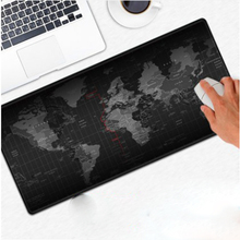 Large Size World Map Quick Custom 3D Printing Rubber Speed Game Mouse Pad Lasting Computers Laptops Mat Gaming Stationery Supply