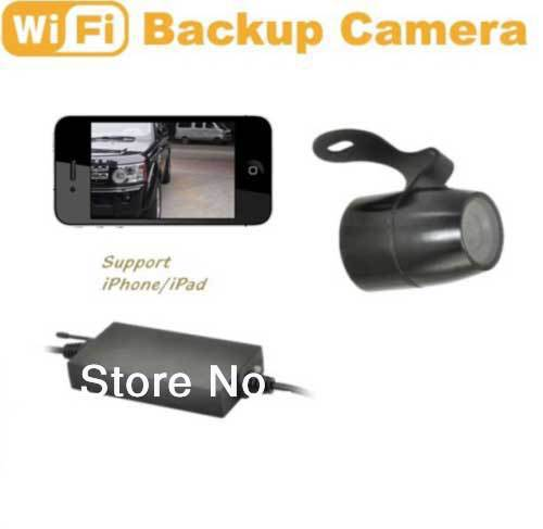 WIFI backup car rearview camera wateproof Adjustable View Angel ...