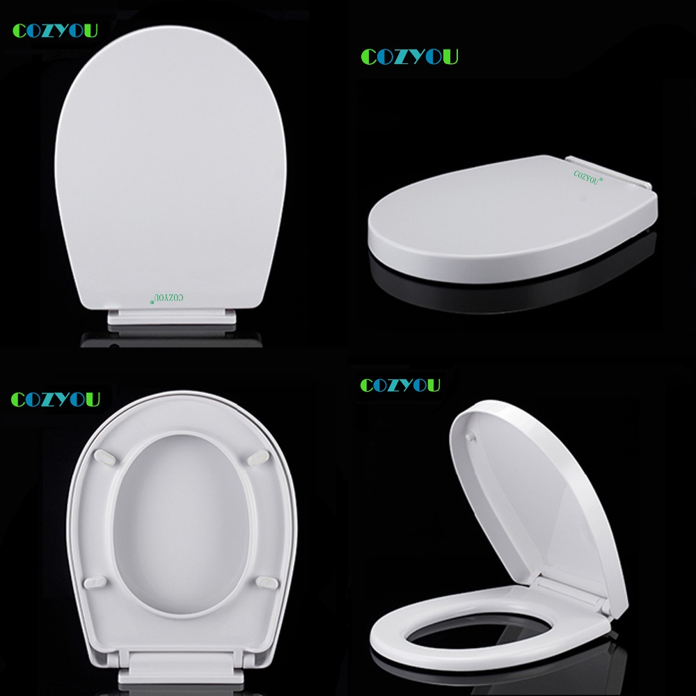 Toilet seat GBP17269PO White O type Slow Close PP board slow close above installation length 415mm to 462mm,width 340mm to 360mm b546 o to 220