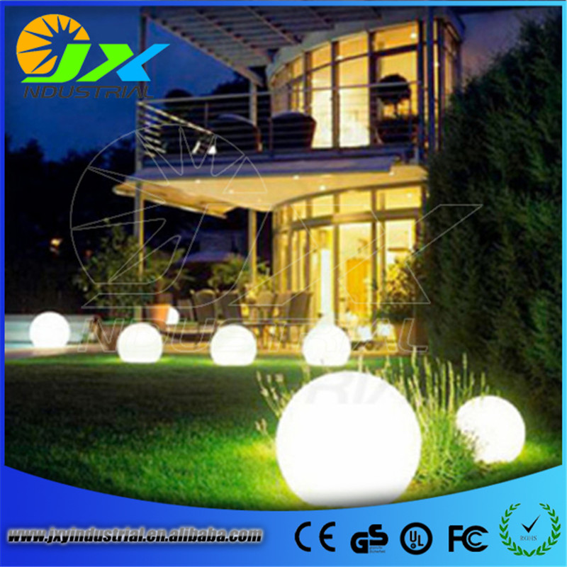 ФОТО led colorful waterproof garden light Diameter 15cm rechargeable