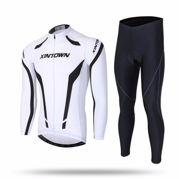 XINTOWN Cycling Sets Long Sleeve Breathable Jersey Clothes Bicicleta Mountain Bike Ropa Ciclismo Bicycle Set Long Sleeve XINGNUB