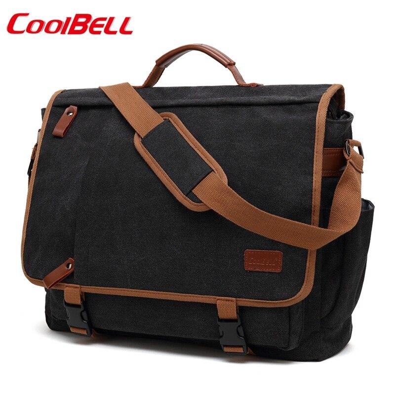 Coolbell mode toile ordinateur sac 15.6