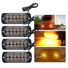 Ultra-thin Car Lights Assembly 36W LED Police Light