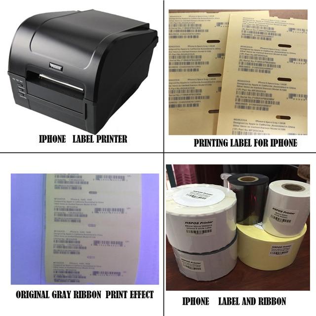 IOS Мобильный Телефон принтер печати этикеток, печать решение с профессиональной технической поддержки для 5 white label