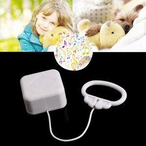 Высокое качество белый Колокольчик для детской кроватки, шнур, музыкальная шкатулка, детские игрушки, случайные песни, погремушки и мобильн...