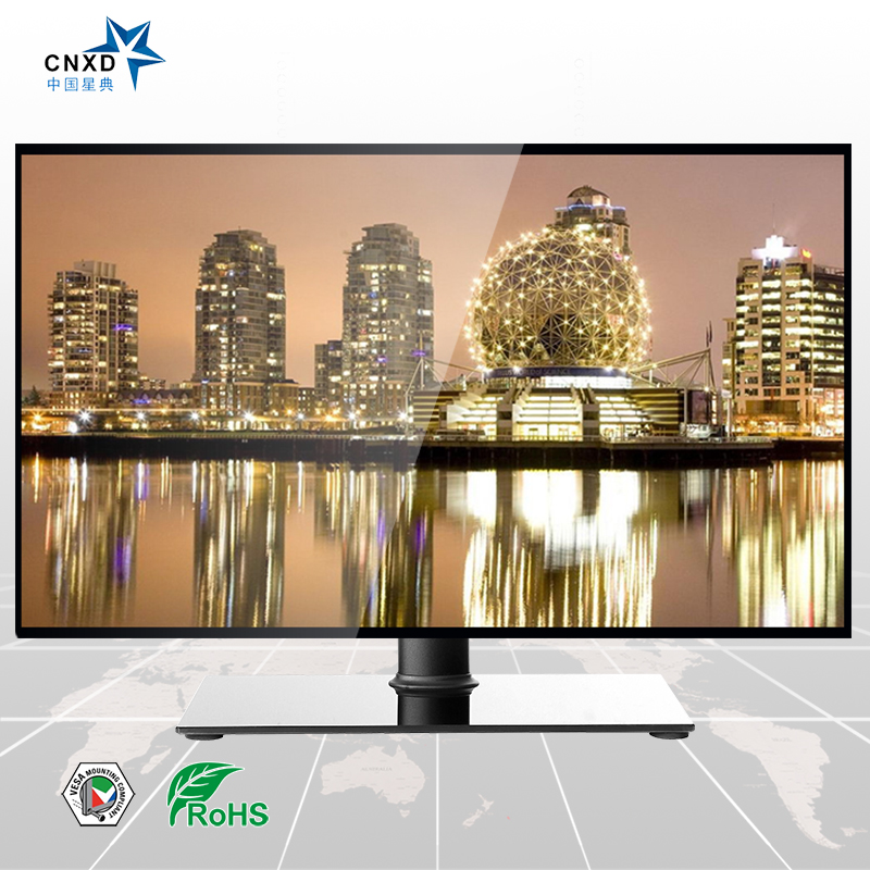LCD Plasma TV Floor Stand Tv Table with Universal Mount Suitable For 32-52