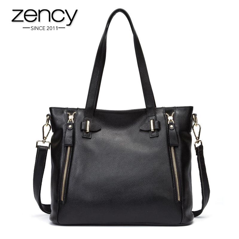 New American LUXURY Style Genuine Leather Women Messenger Shoulder Bag Fashion Brand Designer Handbags Ladies Crossbody Bolsas new american luxury style 100% oil genuine leather women composite shoulder bag brand designer cowhide handbags tote li 1358