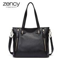 New American LUXURY Style Genuine Leather Women Messenger Shoulder Bag Fashion Brand Designer Handbags Ladies Crossbody