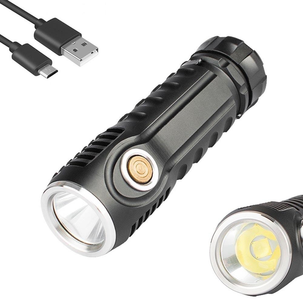XHP70 LED Hardlight Flashlight longrange rechargeable portable aluminum flashlight multi function hunting outdoor use 26650