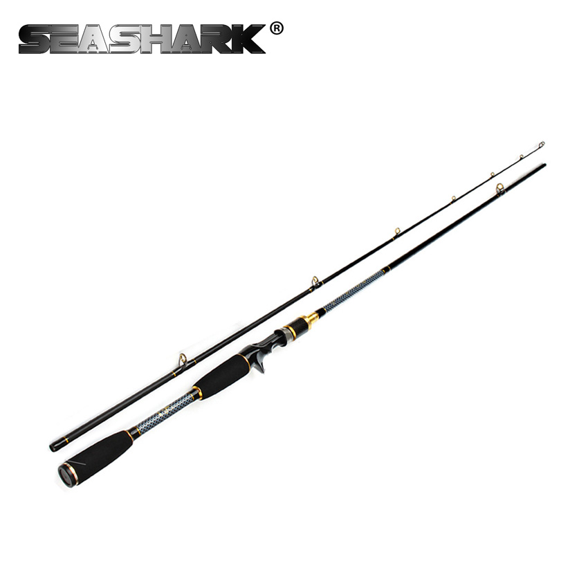 SEASHARK Carbon <font><b>2</b></font> Section Lure Fishing <font><b>Rod</b></font> 1.8M C.W 10-30G Lure w3/8-<font><b>2</b></font> oz Line W 12-30lb H Power Baitcasting Fishing <font><b>Rod</b></font>