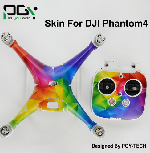 Sticker for DJI Phantom 4 Professional Drone parts accessories 3M PVC for phantom4 Waterproof Skin professional Quadcopter D3