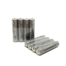 20pcs/lot TrustFire 10440/AAA 600mAh 3.7V Li-ion Battery Rechargeable Batteries with Protected Borad For LED Flashlight