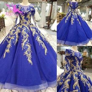 Image 2 - AIJINGYU חתונה שמלות יפן זול כלה Beijing שמלה סקסי פתוח חזרה ארוך שרוולים חדש שמלת כלה