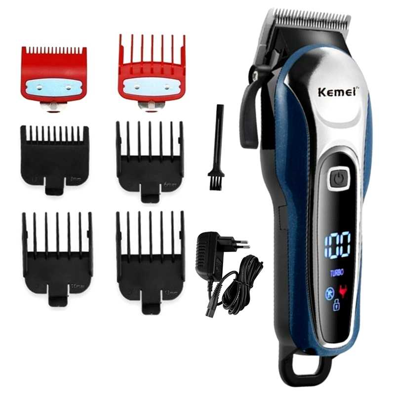 TURBO barber haar clipper professional hair trimmer für männer elektrische bart cutter haar schneiden maschine haar cut cordless corded