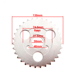 XLSION 420 31T Rear Sprocket 31 Tooth For HONDA Z50A Z50 Z50R Z50J Monkey Bike