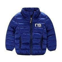 Boys Jacket winter coat Children s outerwear winter style baby boys and girls warm cartoon coat