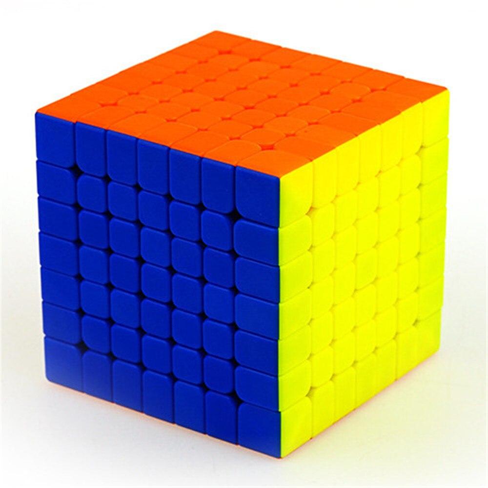 QIYI WuJi M 7x7x7 Cube magique professionnel magnétique 7x7 Rotation rapide professionnelle haute qualité Puzzle Cube jouets